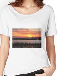 Sky Over The Marsh Women's Relaxed Fit T-Shirt