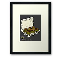 Food for the future. Framed Print