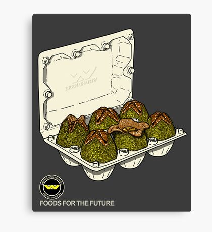 Food for the future. Canvas Print