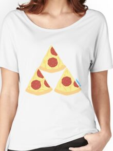 Pizza Triforce Women's Relaxed Fit T-Shirt