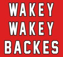 WAKEY WAKEY BACKES - Chicago Blackhawks - St. Louis Blues by erikaandmonty