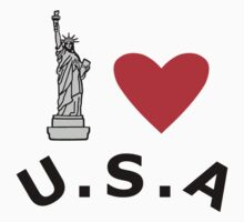 I Heart United States of America by sweetsixty