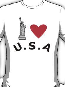 I Heart United States of America T-Shirt