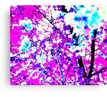 Spring Time in Narberth Canvas Print