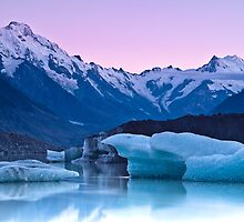 Tasman Glacier - New Zealand by Kimball Chen