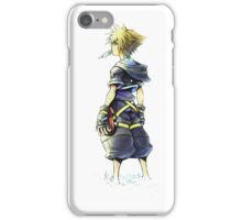 Kingdom Hearts - Sora on beach iPhone Case/Skin