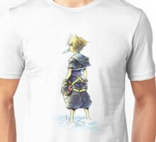 Kingdom Hearts - Sora on beach Unisex T-Shirt