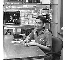 Computer Shop Securadad India Photographic Print