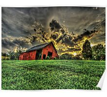Tennessee Sunset Poster
