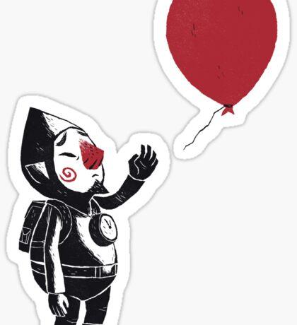 balloon fairy Sticker