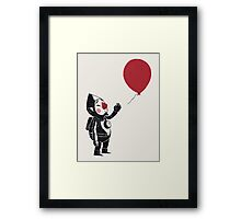 balloon fairy Framed Print