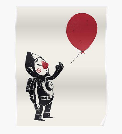 balloon fairy Poster