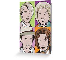 The Doctors 5 to 8 Greeting Card