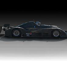 SCCA Racecar P1 by DaveKoontz