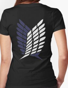 Attack on Titan - Scouting Legion Womens Fitted T-Shirt
