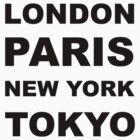 London, Paris, New York, Tokyo by sweetsixty