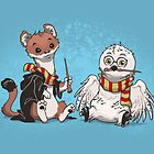 The Owl and the Weasel  by dooomcat