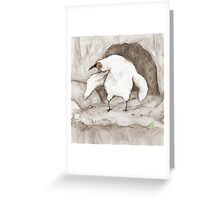 Vulture Chick Greeting Card