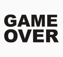 Game Over by sweetsixty