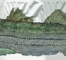 Gyotaku - Striped Bass - Rock Fish - Striper by IslandFishPrint