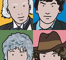 The Doctors 1 to 4 by pygmycreative