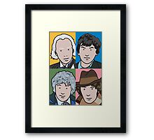 The Doctors 1 to 4 Framed Print