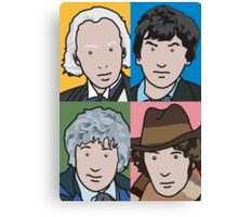 The Doctors 1 to 4 Canvas Print