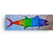 Prideful Mackerel - P-Town - Spectrum Canvas Print