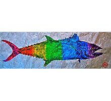 Prideful Mackerel - P-Town - Spectrum Photographic Print