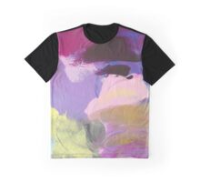 Abstract Painting in rose and purple 13/18 Graphic T-Shirt