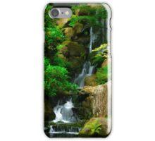 Japanese Rock Garden Falls iPhone Case/Skin