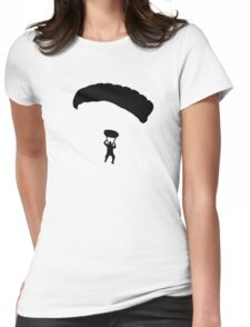 Skydiving Womens Fitted T-Shirt