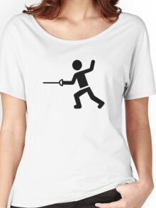 Fencing Women's Relaxed Fit T-Shirt