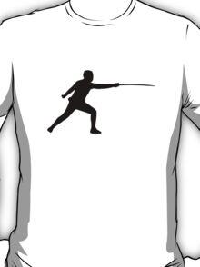 Fencing fencer T-Shirt