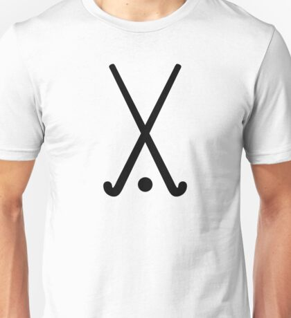 Field hockey clubs ball Unisex T-Shirt