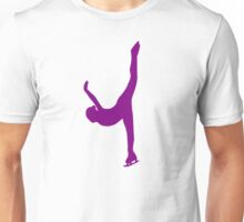 Figure skating woman Unisex T-Shirt