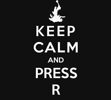 Keep Calm And Press R Unisex T-Shirt