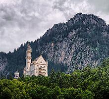 Schloss Neuschwanstein by Xandru