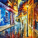 BLUE CORNER by Leonid  Afremov