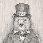 Steampunk Bear by betsystreeter