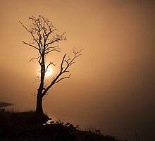 Golden Sunrise on Loch Ard by Grant Glendinning