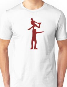 Figure skating couple Unisex T-Shirt
