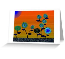 Flower patch Greeting Card