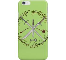Glamdring Orcrist and Sting- The Hobbit iPhone Case/Skin
