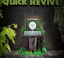 Quick Revive Soda Perk Poster by HexZombies