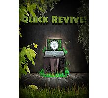 Quick Revive Soda Perk Poster Photographic Print