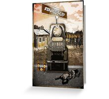 Stamin Up Perk Poster Zombies Greeting Card