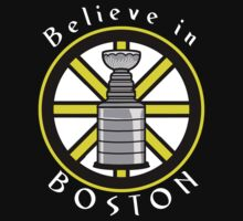 Believe in Boston by Societee