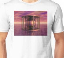 Metal Cage Floating In Water Unisex T-Shirt