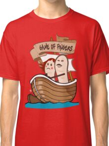 Game Of Fingers - Game Of Thrones Classic T-Shirt